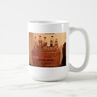 Vintage Embalming Fluid Photo Coffee Mug