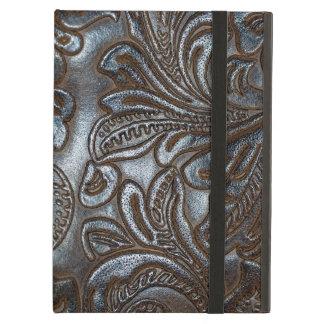 Vintage Embossed Leather iPad Case