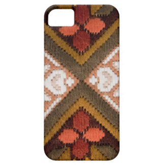 Vintage embroidery iPhone SE/5/5s case
