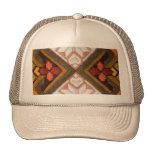 Vintage embroidery mesh hat