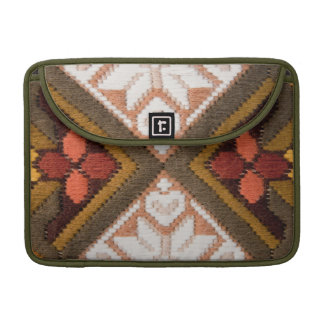 Vintage embroidery sleeve for MacBook pro