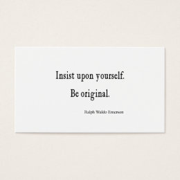 Business cards with inspirational quotes best quote 2017 inspirational quote business cards templates zazzle reheart Images