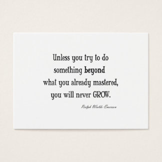 Inspirational quotes business cards templates zazzle for Business cards quotes