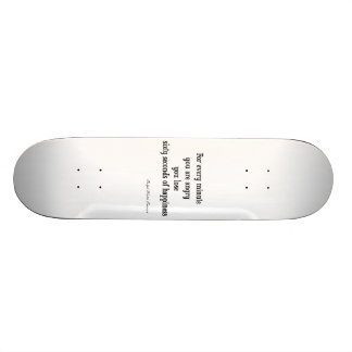 Vintage Emerson Inspirational Happiness Quote Skateboard Deck