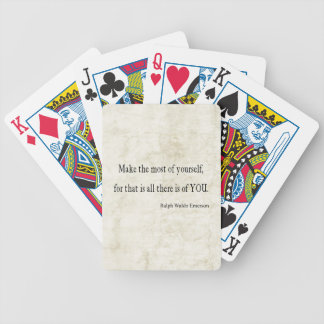Vintage Emerson Inspirational Quote Card Deck