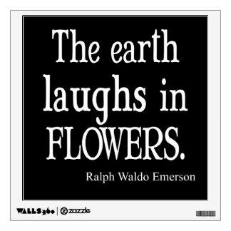 Vintage Emerson que la tierra ríe en cita de las Vinilo