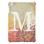 Vintage Emphera Modern Floral Monogam iPad Mini iPad Mini Covers