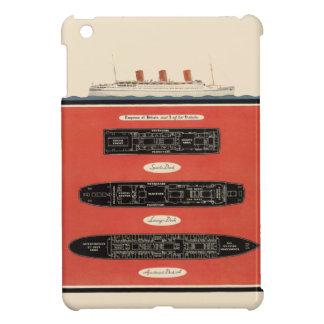 Vintage Empress Britain Ocean Liner Deck Ship Sail iPad Mini Cases