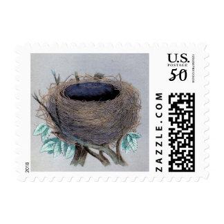 Vintage Empty Nest Postage
