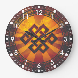 Vintage Endless Knot Clock