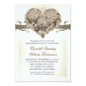 vintage engagement party invitations 5