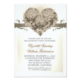 vintage engagement party invitations