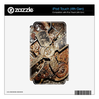 Vintage Engine iPod Touch 4G Decal