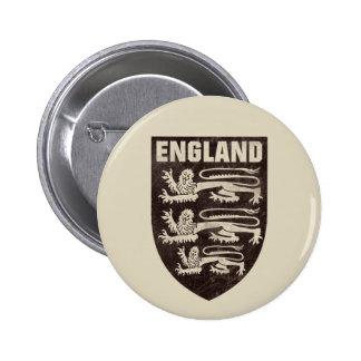 Vintage England 2 Inch Round Button