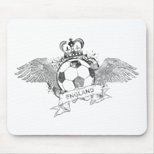 Vintage England Football Mouse Pad