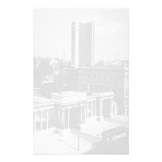 Vintage England London Hyde park corner Hilton 70s Stationery
