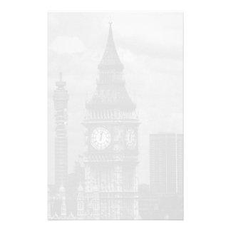 Vintage England London post office tower Big ben Stationery