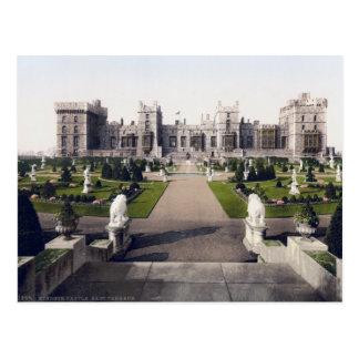 Vintage England Postcard, Windsor Royal Castle Postcard