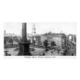 Vintage England, Trafalgar Square London Card