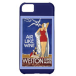 Vintage England Travel Poster iPhone 5 Case-Mate