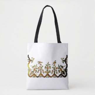 Vintage English Fab Art Tote Bag
