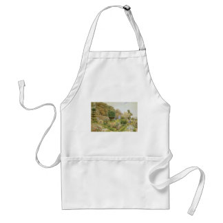 Vintage English Garden, Roses and Pinks by Elgood Adult Apron