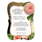 Vintage English Roses Glam Old Hollywood Regency Card
