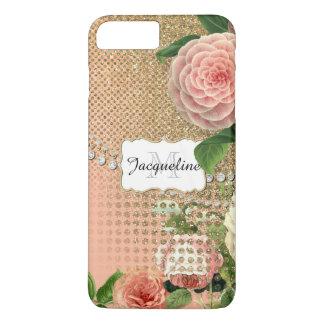 Vintage English Roses Glam Old Hollywood Regency iPhone 8 Plus/7 Plus Case