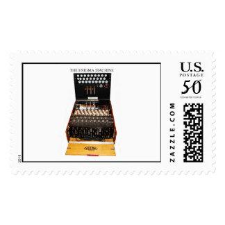 Vintage Enigma machine military secret codes Postage