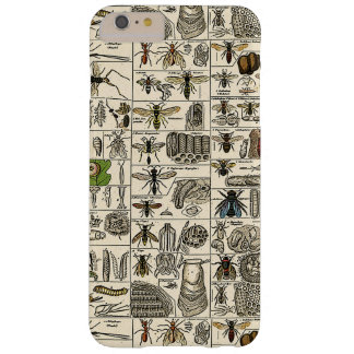 Vintage Entomology Barely There iPhone 6 Plus Case