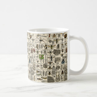 Vintage Entomology Coffee Mug