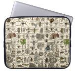 Vintage Entomology Laptop Computer Sleeve