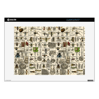 Vintage Entomology Skin For Laptop