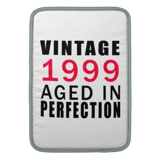 Vintage envejecido en 1999 en la perfección fundas macbook air