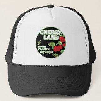 Vintage Ephemera, Cherryland Door County Wisconsin Trucker Hat