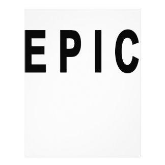 Vintage Epic T-shirt C.png Customized Letterhead