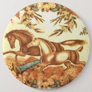 Vintage Equestrian Horse Button