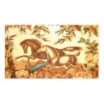 Vintage Equestrian Horse PlaceCard profile card Business Card Templates