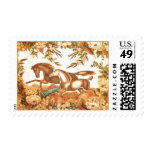 Vintage Equestrian Horse Postage
