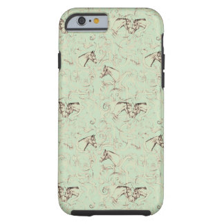 Vintage Equestrian Phone Case Tough iPhone 6 Case