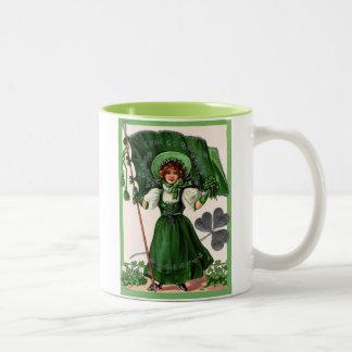 Vintage Erin go Bragh Mug
