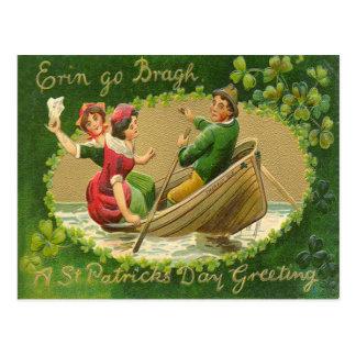 Vintage Erin Go Bragh St Patrick's Day Card