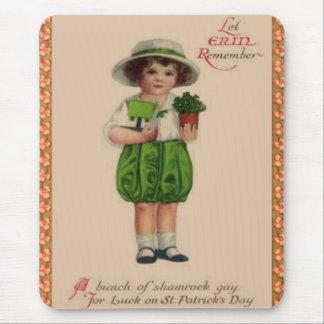 Vintage Erin Remember Mousepad