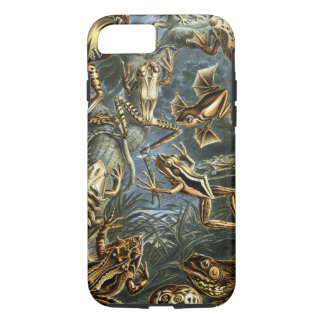 Vintage Ernest Haeckel Frogs Print iPhone 8/7 Case