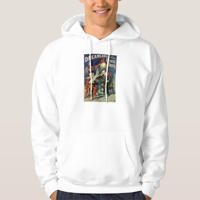 Vintage Ernest Thorn Magician Poster Hoodie