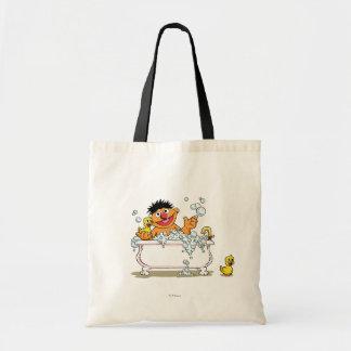 Vintage Ernie in Bathtub Tote Bag