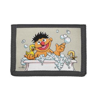 Vintage Ernie in Bathtub Tri-fold Wallet