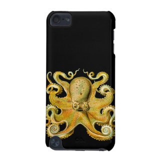 Vintage Ernst Haeckel Octopus in Yellow iPod Touch 5G Case
