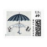 Vintage es un sello del paraguas del bebé