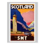 Vintage Escocia Postal